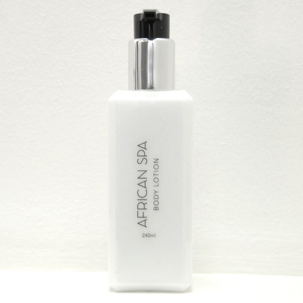 African Spa pump bottle Body Lotion