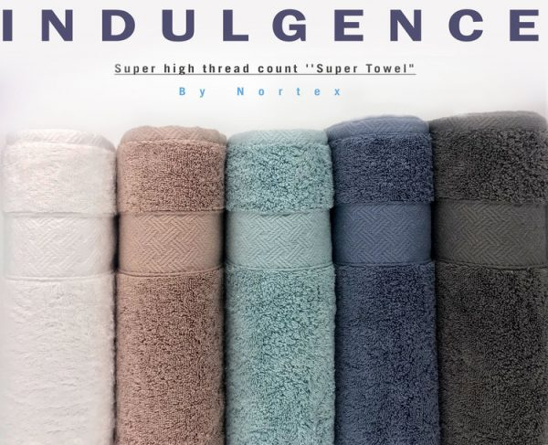 Nortex Indulgence towels new colour chart