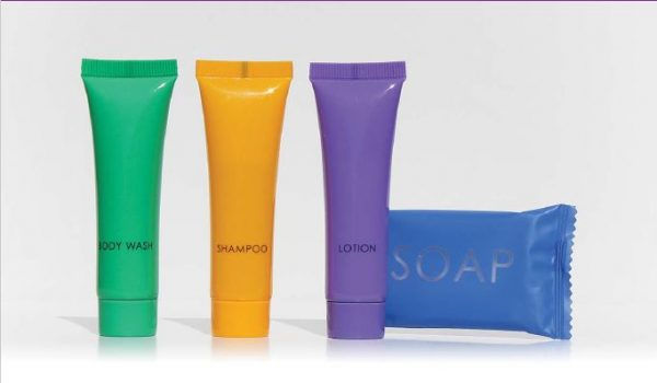 Colours Collection guest toiletry range