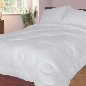 Feathertouch duvet and pillows
