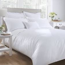 200 Threadcount Polycotton Percale (White/Cream)