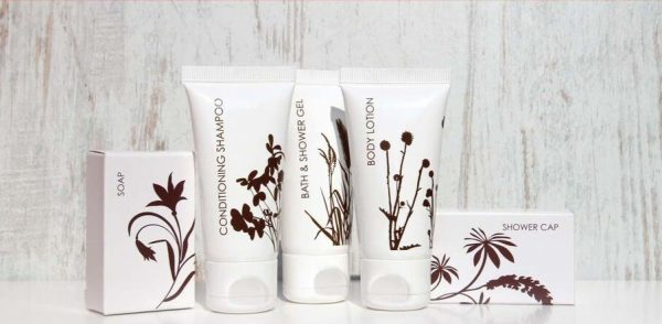 Pascale Silhouette guest toiletry range