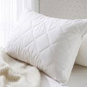 Pillow Protectors Quilted - White