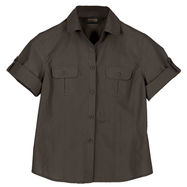 Ladies Ourback Blouse Khaki