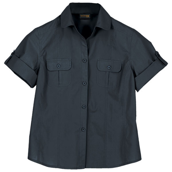 Ladies Outback Blouse Granite