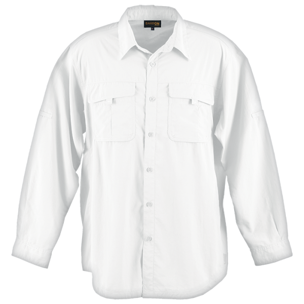 Mens Outback Shirt White