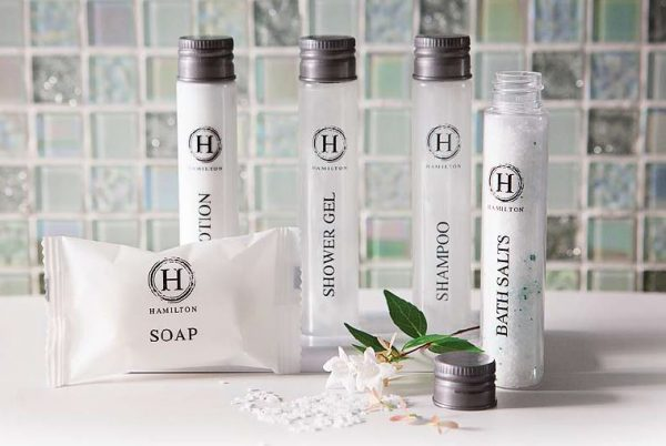 Hamilton guest toiletries 30ml bottles