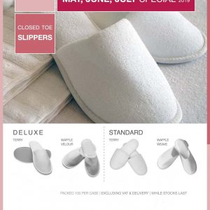Slipper Special DeLuxe and Standard May June July 2019