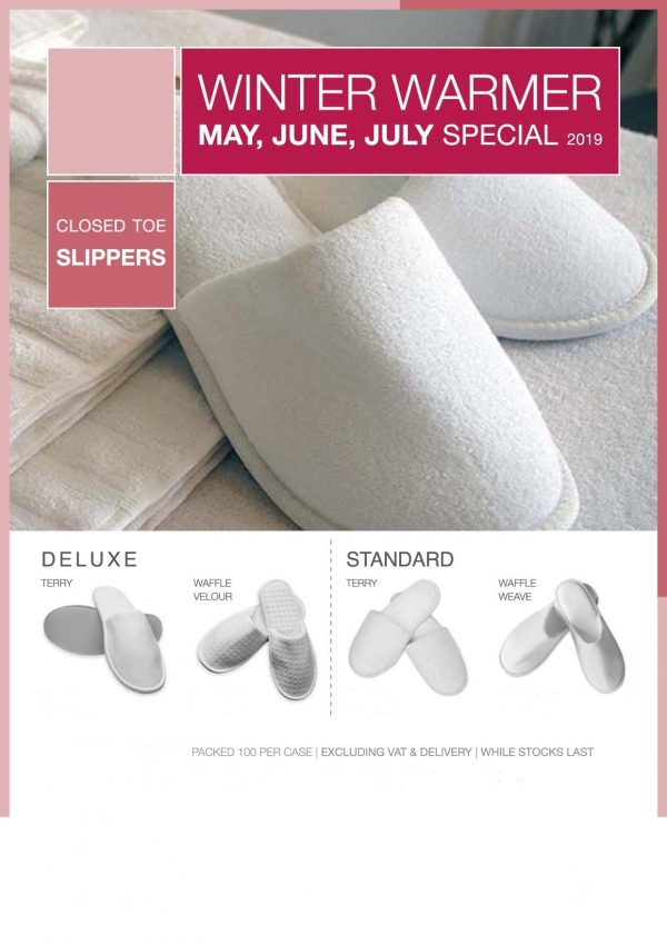 Slipper Special Deluxe and Standard