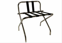 Chrome Lugg Rack - with back
