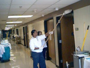 Cleaning Public Areas